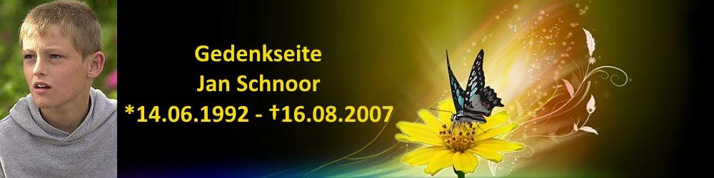 Jan Schnoor Gedenkseite